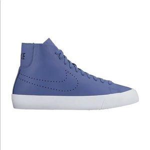 Nike Sz 10.5 Mid Shoes Blazer Italian Leather